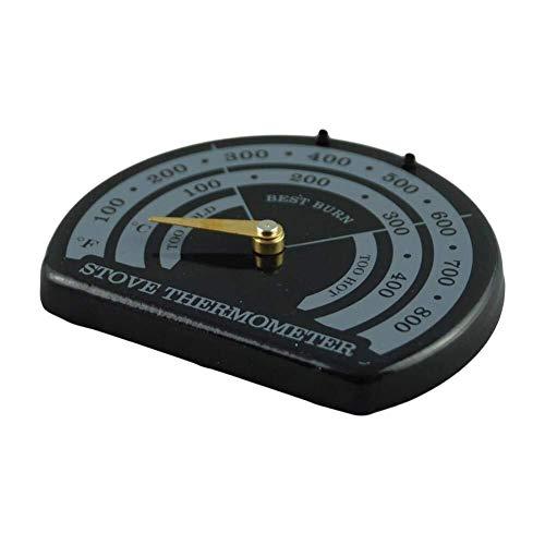 Hailiang Houtkachel Thermometer, Kachelmeter Thermometer voor Houtkachel, Gaskachels, Kachelpan, Kachelpijp-Magnetische Kachel Thermometer- Vermijd Kachelventilator Beschadigd door oververhitting