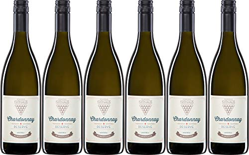 Gebrüder Nittnaus Chardonnay Reserve 0,75 l 2018 Trocken (6 x 0.75 l)