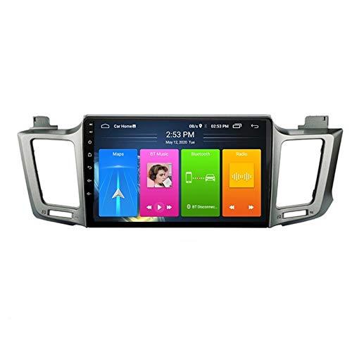 MGYQ 9 Pulgadas De Pantalla Táctil Reproductor De Video Multimedia Soporte AUX Input/FM/BT/USB/WiFi/SWC/Mirror Link/OBD2, para Toyota RAV4 2013-2018 Radio De Coche,Octa Core,4G WiFi 2+32