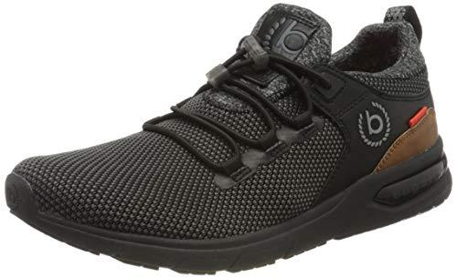 bugatti Herren 342658606950 Slip On Sneaker, Schwarz, 42 EU