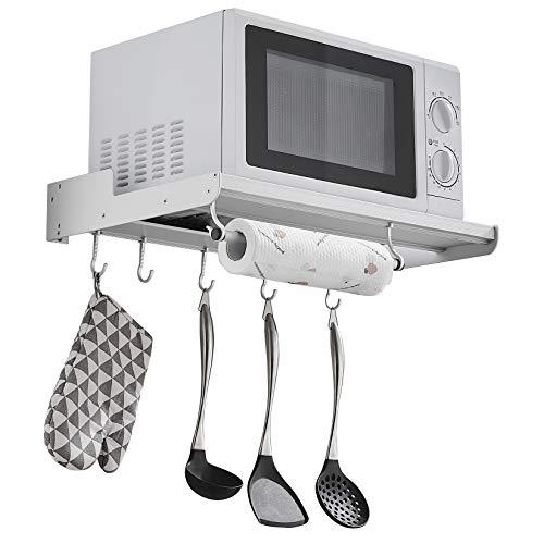 Microwave Oven Rack Regal FüR Mikrowelle, Ofen/Wandhalterung Für KüChe Mikrowelle Backofen Wandhalterungen Universal Regal Mikrowellenhalterung