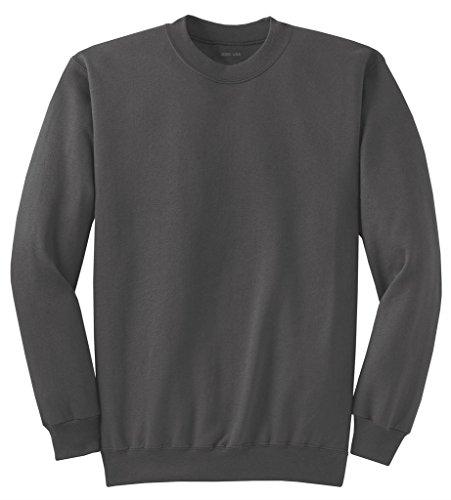 Joe's USA Adult Classic Crewneck Sweatshirt, S -Charcoal
