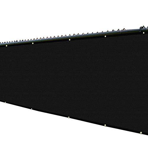 Filet d'ombrage Maison Animaux Couverture Tissu D'ombrage 80% Sunblock, Voile D'ombre de Pergola de Chiffrement avec Oeillets, pour Jardin Résidentiel/Toit/Solarium (Size : 1.8×5m)
