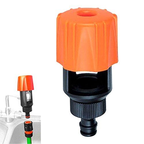 Pergrate Protector 379/5000 Universal Grifo para Manguera Jardín Conector Batidora Válvula de Mezcla Baño Cocina Adaptador de Grifo