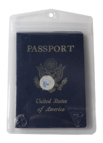 Seattle Sports Dry Doc Waterproof Passport, Valuables, and Small Electronics Case