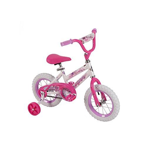 12' Huffy Girls' Sea Star Bike, White