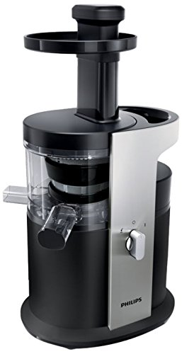Philips Avance Collection Licuadora por presión HR1880/01 - Exprimidor (Exprimidor, Negro, Plata, 1,5 L, 1,5 m, 1,5 L, De plástico)