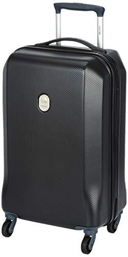 Delsey Misam ABS 55 Cm 4 Wheels Black Cabin Hard Suitcase