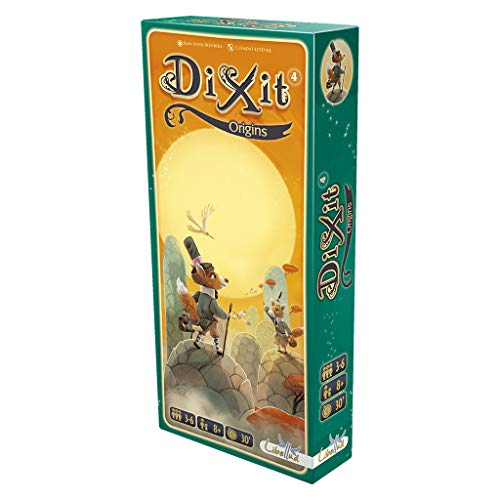 Dixit Erweiterung - Alle verfügbaren Erweiterungen - Dixit Origins (Libellud DIX06ML)