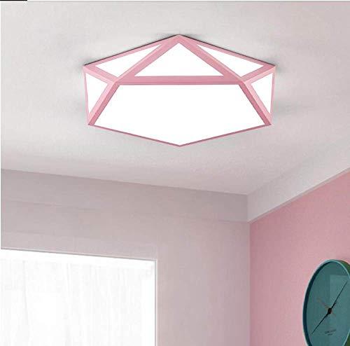 WFSDKN Plafondlamp, moderne led-plafondlamp, indoor plafondverlichting voor woonkamer, slaapkamer, familie, woonverlichting, inbouw plafondlamp