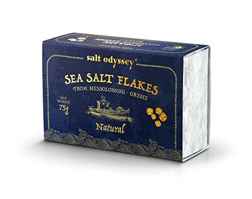 Salt Odyssey Scaglie di Sale Marino, 75g (confezione da 3)