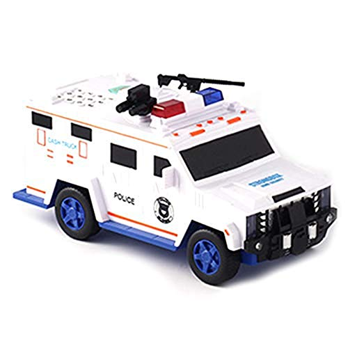 Digital Piggy Bank Kids Toy Spaarpot Saving Deposit, Dozen Electronic Tirelire Enfant, Kinderen Cash Car Coin Safe Truck Black,White