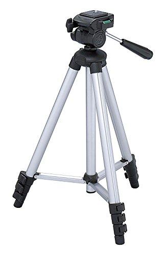 Maxsimafoto - MSF312 Treppiede - 128cm (50') - Per Canon G12 G15 G16 Sony A6500 A6300 A6000 A5000 A5100 RX100, RX100 II, III, IV, H200 HX50 HX60 H300 HX400 H400V NEX 3, 5, 6, 7.