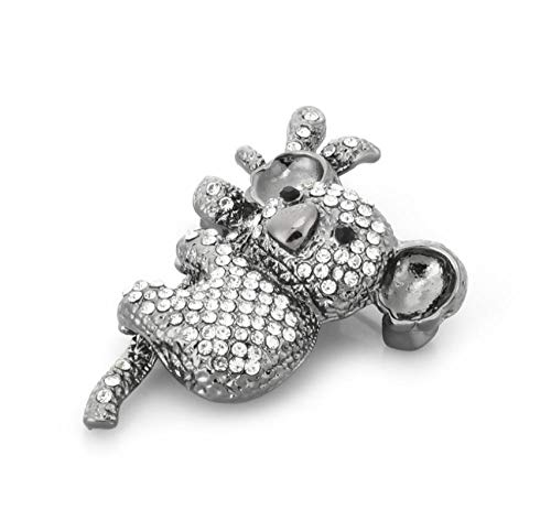 N\A Rhinstone Koala Brooches Women Alloy Classic Animal Party Casual Brooch Pins Gifts