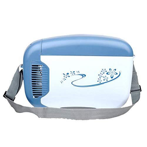 Tragbarer Gefrierschrank-Auto-Kühlschrank Portabler 12V-Halbleiterkühlschrank-Blau_347 * 178 * 228 Mm Mini-Kühlschrank Kleines Zuhause Micro-Kühlschrank