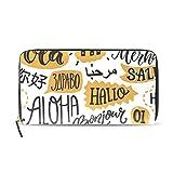 Hallo Aloha - Carteras para mujer con múltiples ranuras para tarjetas