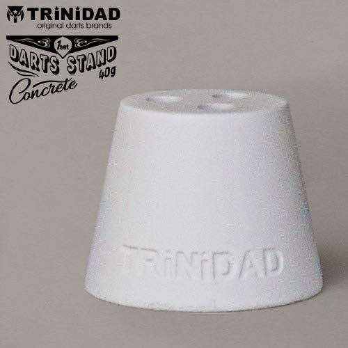 Manuel gil trinidad concrete darts stand white