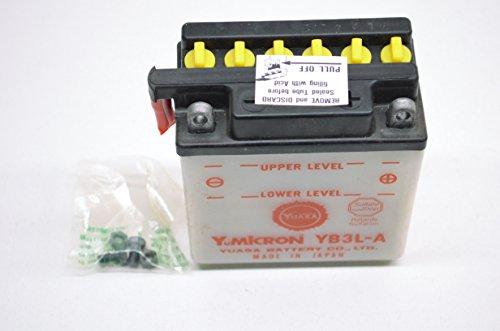 /yb3l-a f/ür Honda XL600R 600/ccm Baujahr 83 87 Batterie YUASA/
