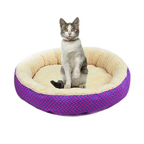 WPCASE Cojin Gato Camas para Perros PequeñOs Baratas Cama para Gatos para Perros Colchoneta Dormir Perros CojíN para Dormir Suave Perrera Adecuado Red,S