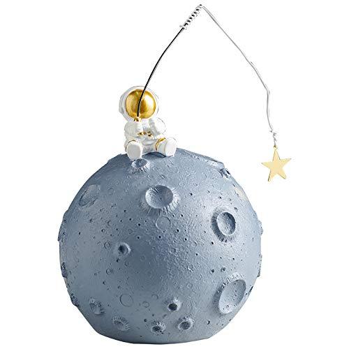 CDMA Astronauta Piggy Bank Ins Wind Niños Moneda Cambiar Tanque De Almacenamiento Adulto Muebles Decoración Anti-Caída 0428C(Size:A)
