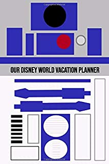 Our Disney World Vacation Planner: R2D2 Star wars style travel sized Walt Disney World Orlando Vacation Planner, plan hotels, dining, fast passes and ... daily. Your perfect holiday preparation tool