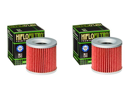 Hiflo Filtro HF125 para motocicleta, Quad Premium filtro de aceite compatible con KZ305 82-88