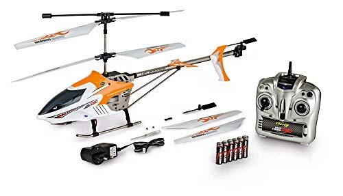 CARSON 500507049 - Easy Tyrann 550 RC 3,5 CH 2.4G 100{09a055f7090c9b8405ed4d83c347cc121f8b66ff830dbd1ae43d7318448e7aff} RTF, Ferngesteuerter Helikopter, Flugfertiges Modell,RC Helikopter,inkl. Batterien und 2,4 GHz Fernsteuerung,100{09a055f7090c9b8405ed4d83c347cc121f8b66ff830dbd1ae43d7318448e7aff} flugfertig, LED