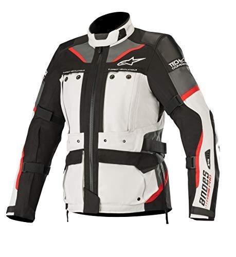 Alpinestars Chaqueta moto Stella Andes Pro Drystar Jacket Tech-air Compatibl Light Gray Black Dark Gray Red, Negro/Gris/Rojo, M