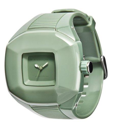 Freestyle Vader - Reloj analógico de mujer de cuarzo con correa de goma verde