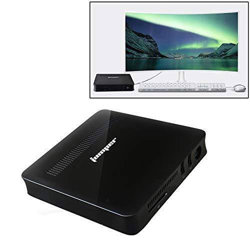 LYX Mini PC EZBox Z8, procesador Intel Atom X5-Z8350 de Cuatro núcleos hasta 1,92 GHz, RAM: 2 GB, ROM: 32 GB, Soporte HDMI/VGA + Muy Recomendable