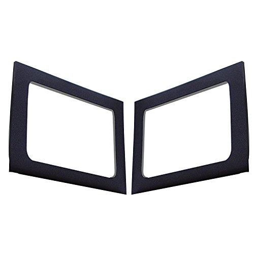 Design Engineering 050149 Boom Mat Black Sound Deadening Side Window Trim Kit Compatible with 4-Door Jeep Wrangler JK (2011-2018)