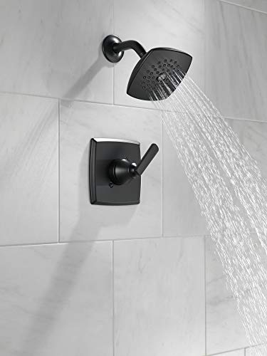 Delta T14264-BL ASHLYN Monitor 14 Series Trim Shower Only, Without Rough, Matte Black