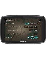 TomTom truck navigatie GO Professional 620, 6 inch, Maps Europa en Traffic, specifieke services voor vrachtwagen, bus, bestelbus en andere grote voertuigen