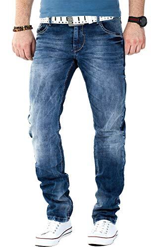 Cipo & Baxx Herren Jeans CD319, Blau, Gr. W36/L32