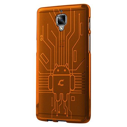 Cruzerlite Schutzhülle für OnePlus 3 / 3T, TPU, Orange