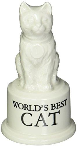 Worlds Best Cat Ceramic Trophy