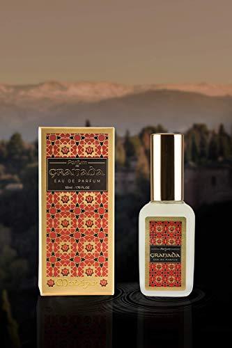 Parfum de Granada Perfume oriental intenso para mujer con notas ámbar y vainilla, cedro y granada natural vegano cruelty free 0% parabenos 0% sulfatos