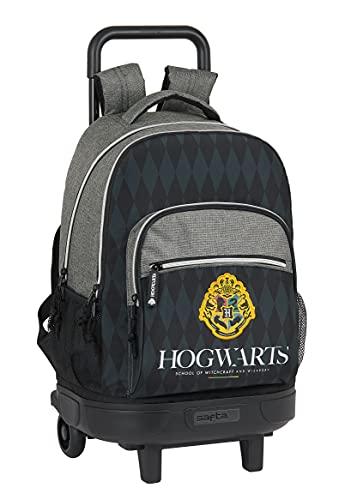 Safta Mochila Escolar con Carro Incluido y Espalda Acolchada de Harry Potter Hogwarts