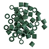 Onyehn 100pcs Sealing O Ring Kit Replacement Rubber Gasket Seals for A/C Refrigeration Charging Hose A/C 1/4' Thread Charging Hose/Manifold Auto Repair Tool