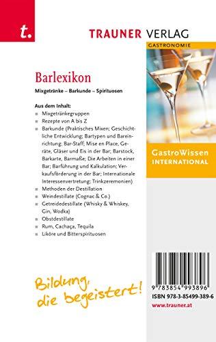 Barlexikon: Mixgetränke, Barkunde, Spirituosen - 2