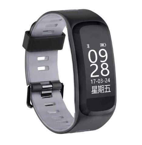 SANON F4 Smart Bluetooth Pulsera Monitor de Sueño de Frecuencia Cardíaca 30 M Presión Arterial Impermeable Monitoreo de Oxígeno en Sangre