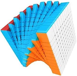 CuberSpeed Moyu MoFang JiaoShi Meilong 10x10 stickerless Cube MFJS MEILONG 10x10x10 Cubing Classroom Speed Cube
