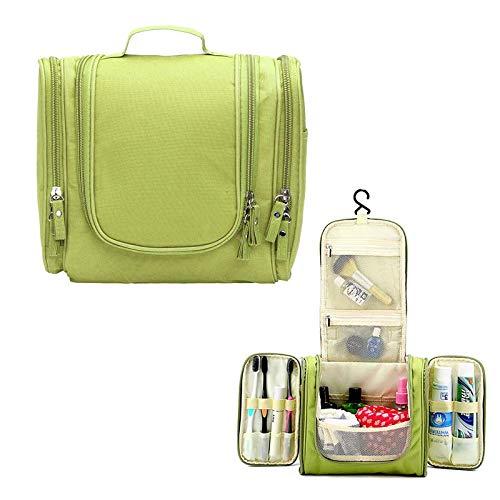 QFERW Kosmetiktasche Wasserdichte Reise tragbare Tasche Reise Akupunktur Werkzeugkasten Aufbewahrungstasche Beauty-Box, grün