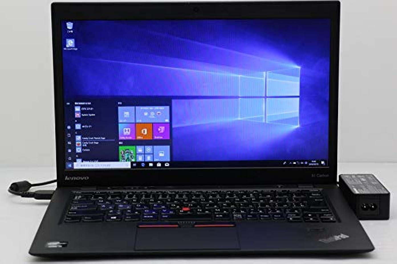 引用顕微鏡外交問題【中古】 Lenovo ThinkPad X1 Carbon Core i5 3337U 1.8GHz/4GB/120GB(SSD)/14W/WXGA++(1600x900)/Win10