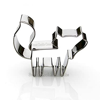 Fox Cookie Cutter- Stainless Steel