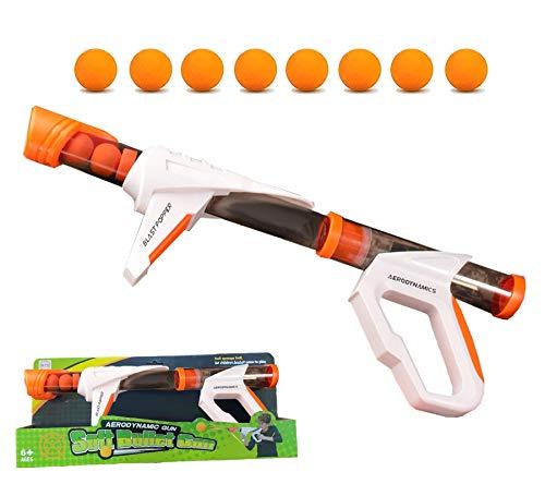 Oleoly Power Popper Guns for Boys, Foam Ball Blaster Shooting Toys, 1 Air Popper Toys Gun & 8 Foam...