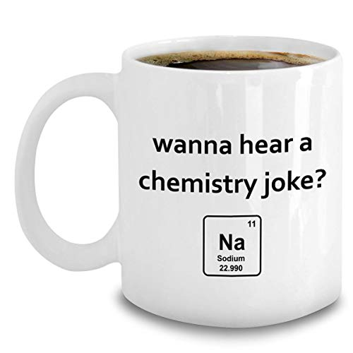 Chemistry Mug - Gag Gifts for Chemistry Science Teacher - Periodic Table Element Coffee Cup 11oz