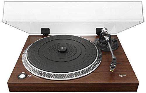 Lenco L-90 Platine Vinyle Marron