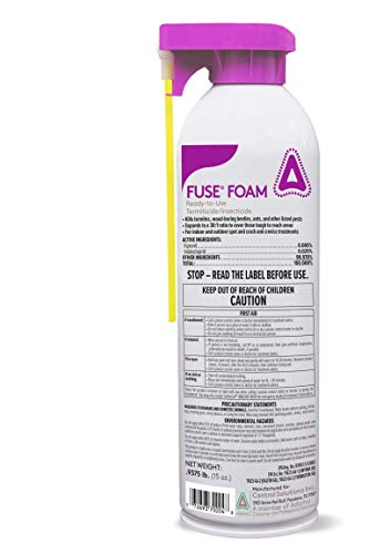 Control Solutions Inc. 82770008 Fuse Foam Ready-to-Use Termiticide/Insecticide