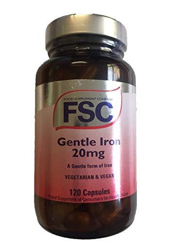 FSC Gentle Iron 20mg 120 Capsules